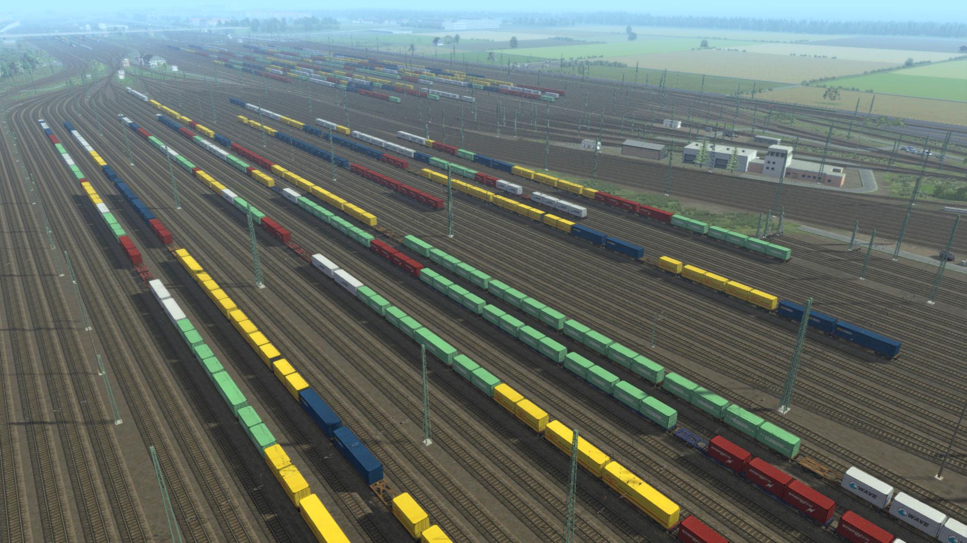 Train Simulator: The Rhine Railway: Mannheim - Karlsruhe Route Add-On screenshot