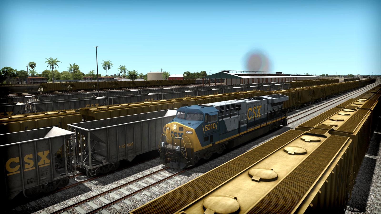 Train Simulator: CSX AC6000CW Loco Add-On screenshot