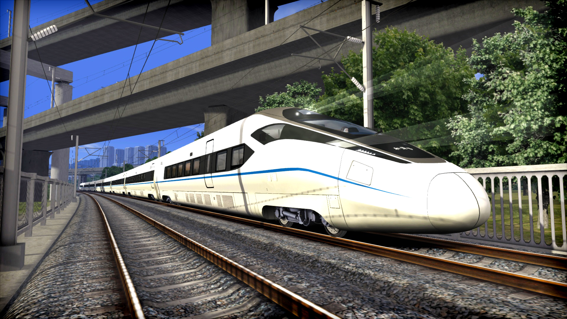 Train Simulator: CRH380D EMU Add-On screenshot