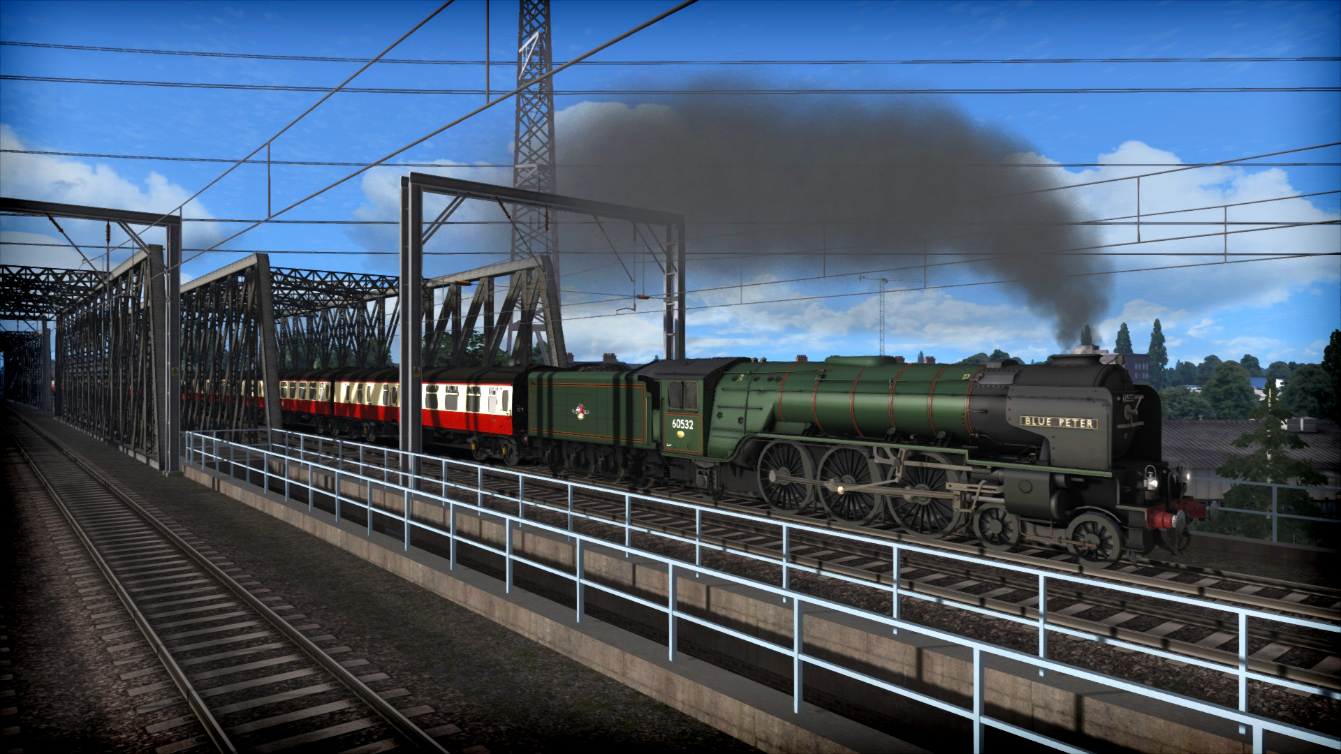 Train Simulator: LNER Peppercorn Class A2 'Blue Peter' Loco Add-On screenshot