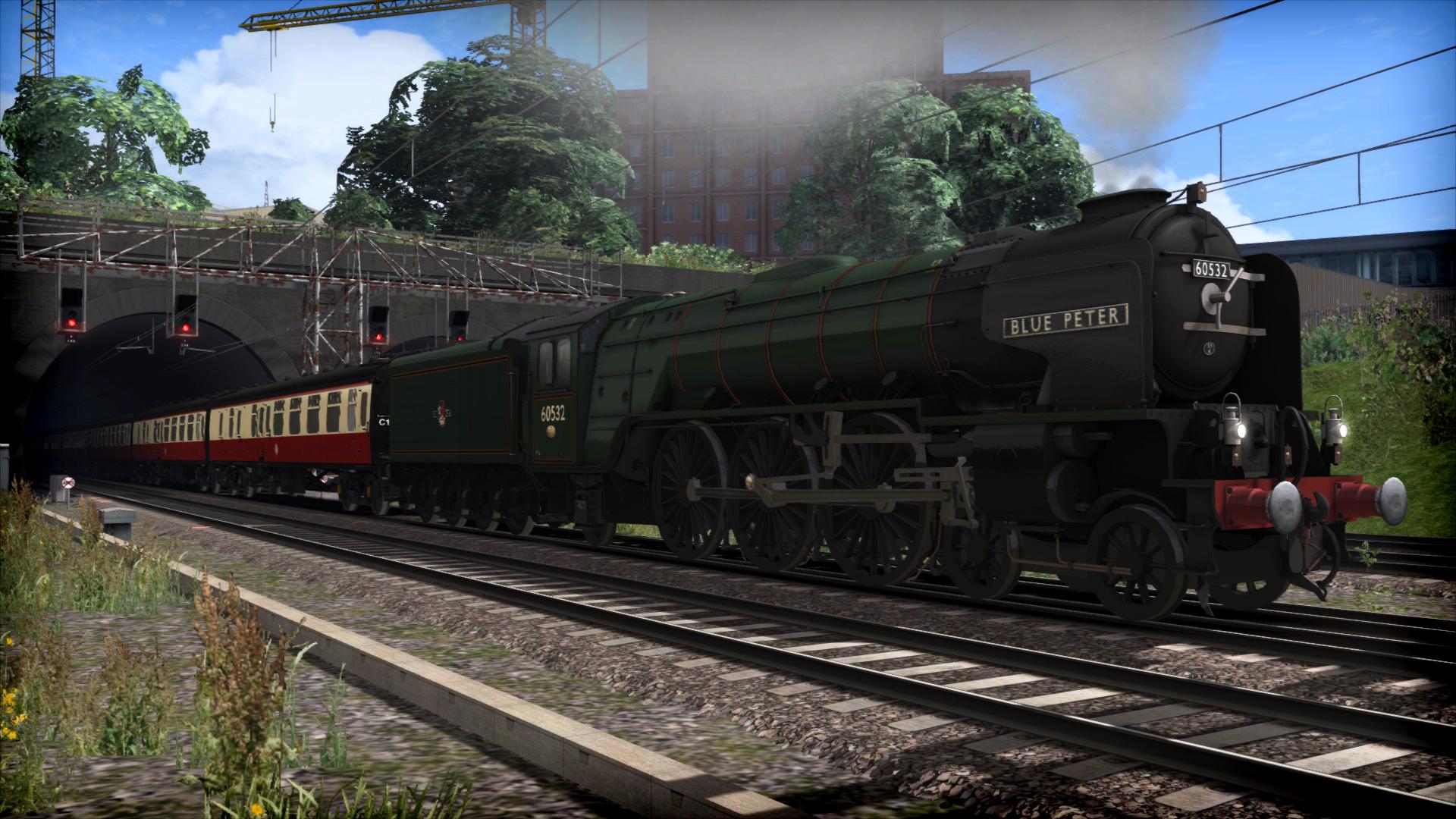 Train Simulator: LNER Peppercorn Class A2 'Blue Peter' Loco Add-On screenshot