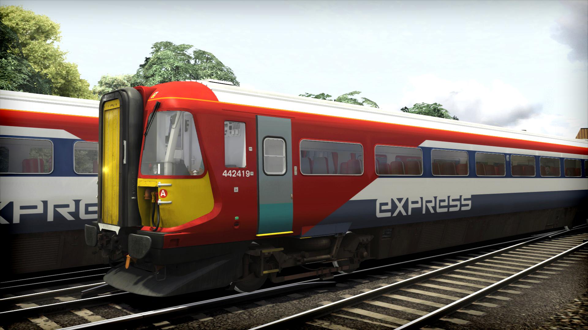 Train Simulator: Gatwick Express Class 442 'Wessex' EMU Add-On screenshot