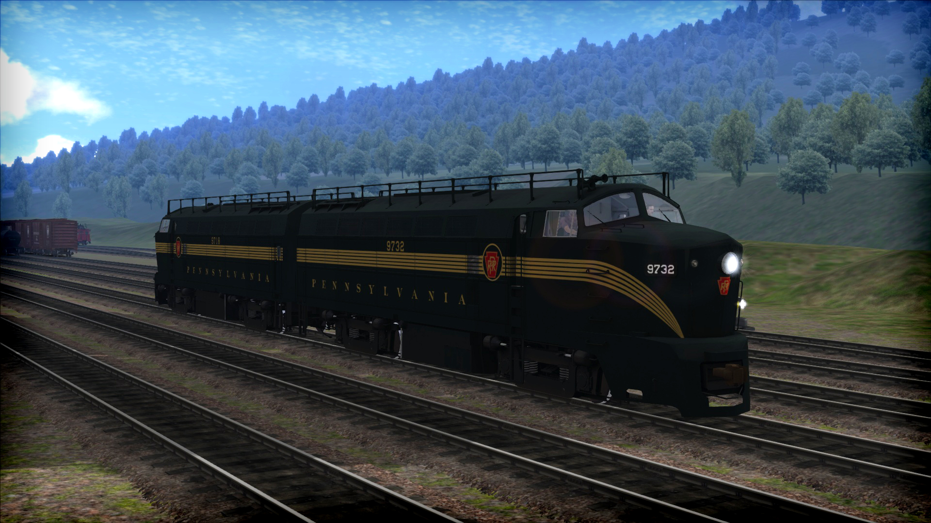 Train Simulator: PRR RF-16 'Sharknose' Loco Add-On screenshot