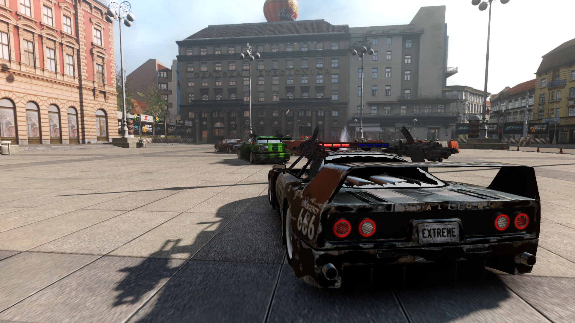 Gas Guzzlers Extreme: Full Metal Frenzy screenshot