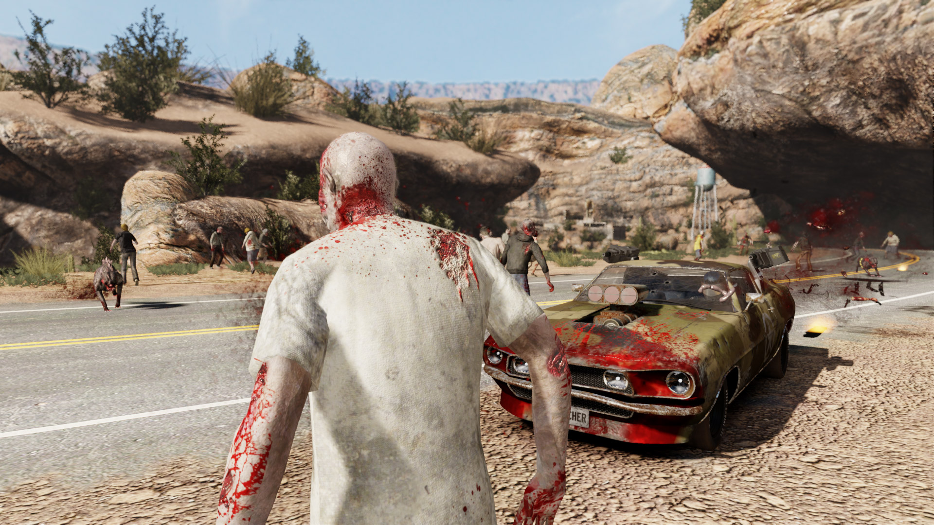 Gas Guzzlers Extreme: Full Metal Zombie screenshot