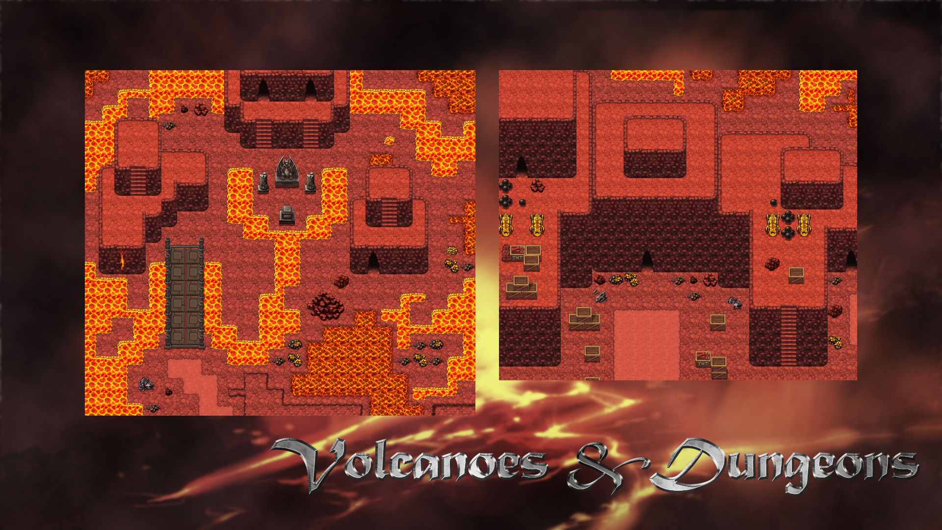 Rpg maker vx ace dungeons and volcanoes tile pack for Apartment 412 rpg maker fes