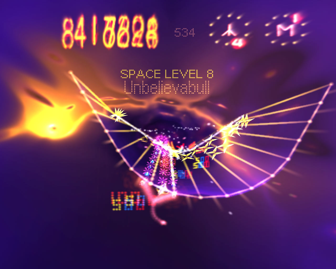 Space Giraffe screenshot