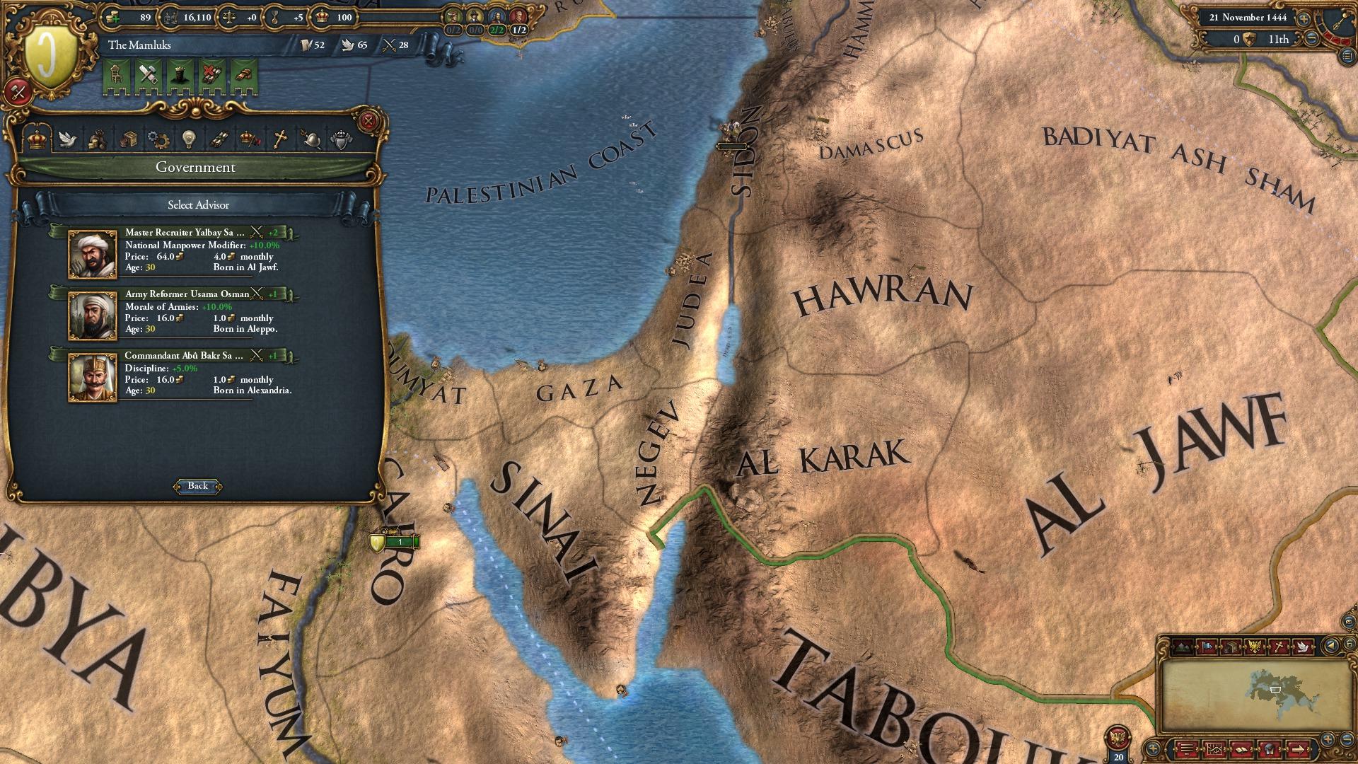Europa Universalis IV: Muslim Advisor Portraits screenshot