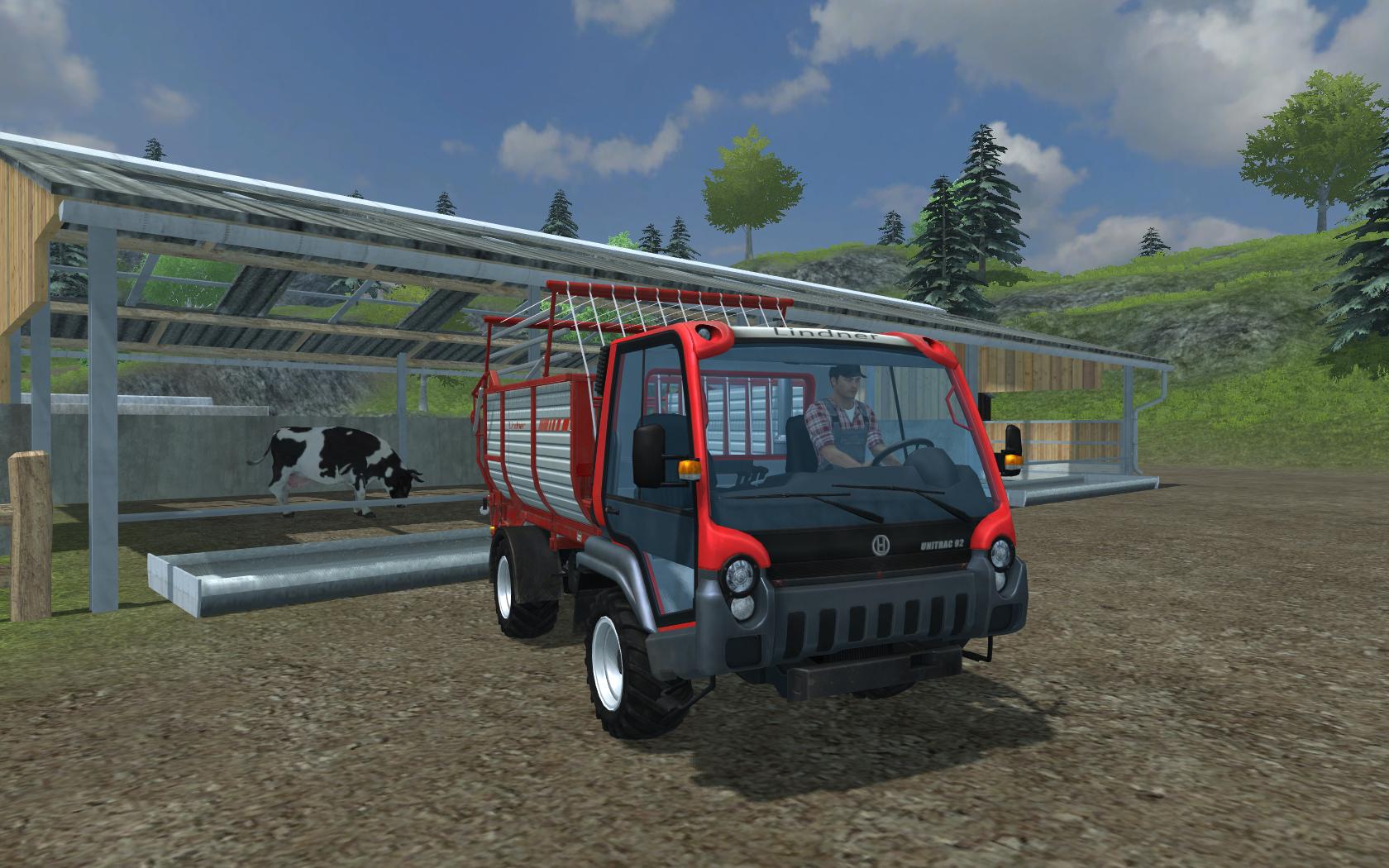 Farming Simulator 2013 Lindner Unitrac screenshot