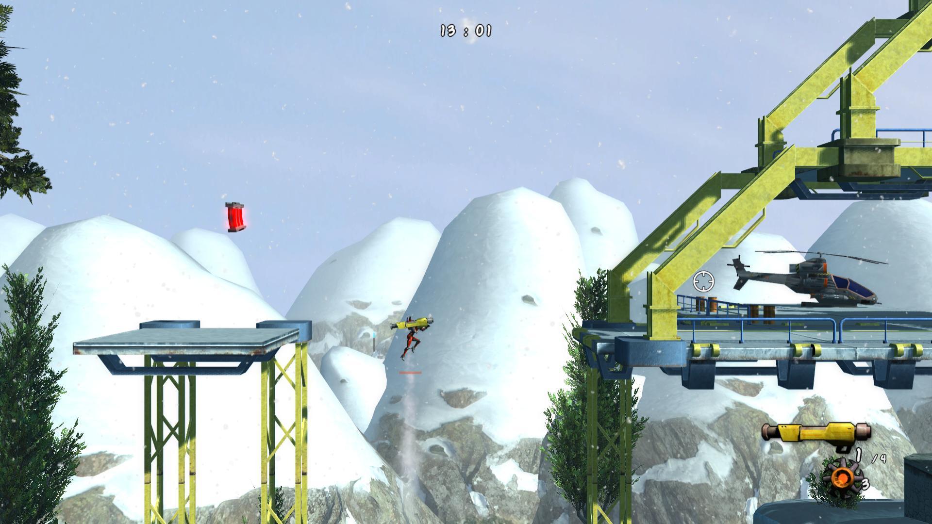 Booster Trooper screenshot