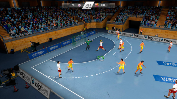 Download IHF Handball Challenge 14 PAL XBOX360-STRANGE