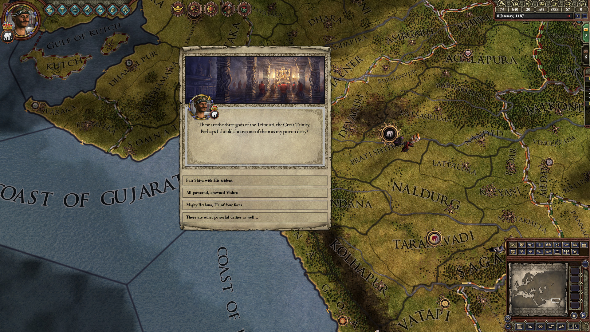 Expansion - Crusader Kings II: Rajas of India screenshot