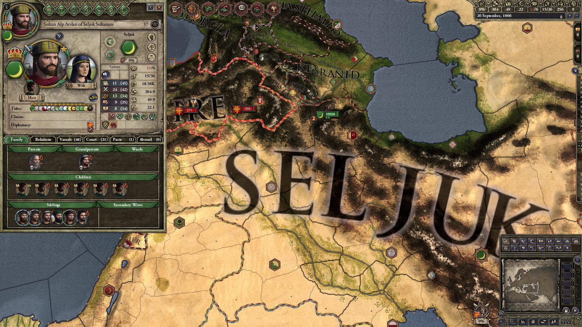 Crusader Kings II: Turkish Portraits screenshot