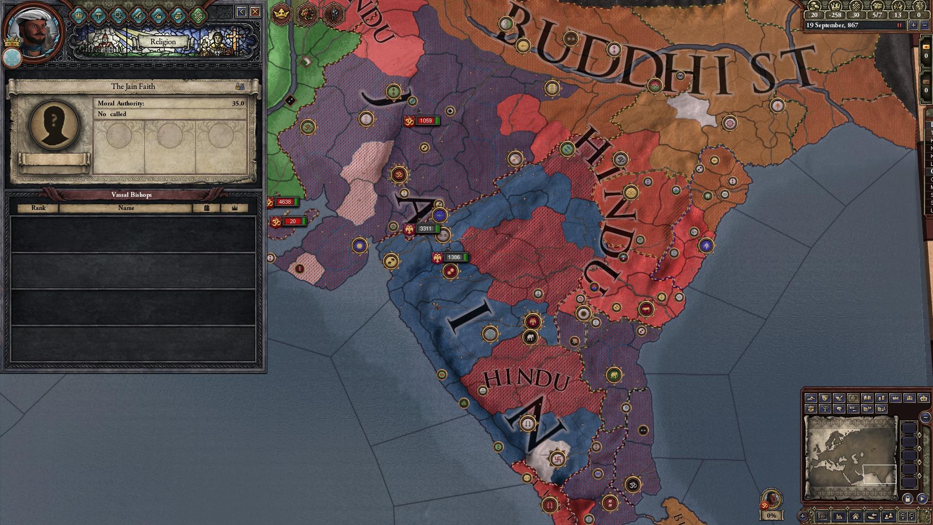 Crusader Kings II: Songs of India screenshot