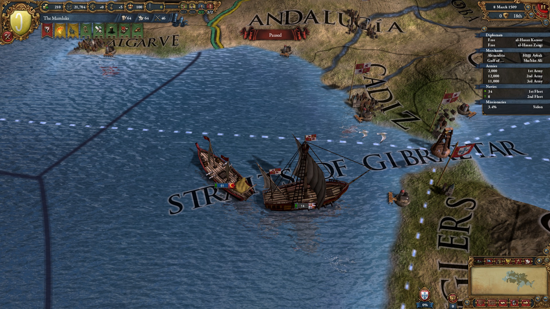 Europa Universalis IV: Muslim Ships Unit Pack screenshot