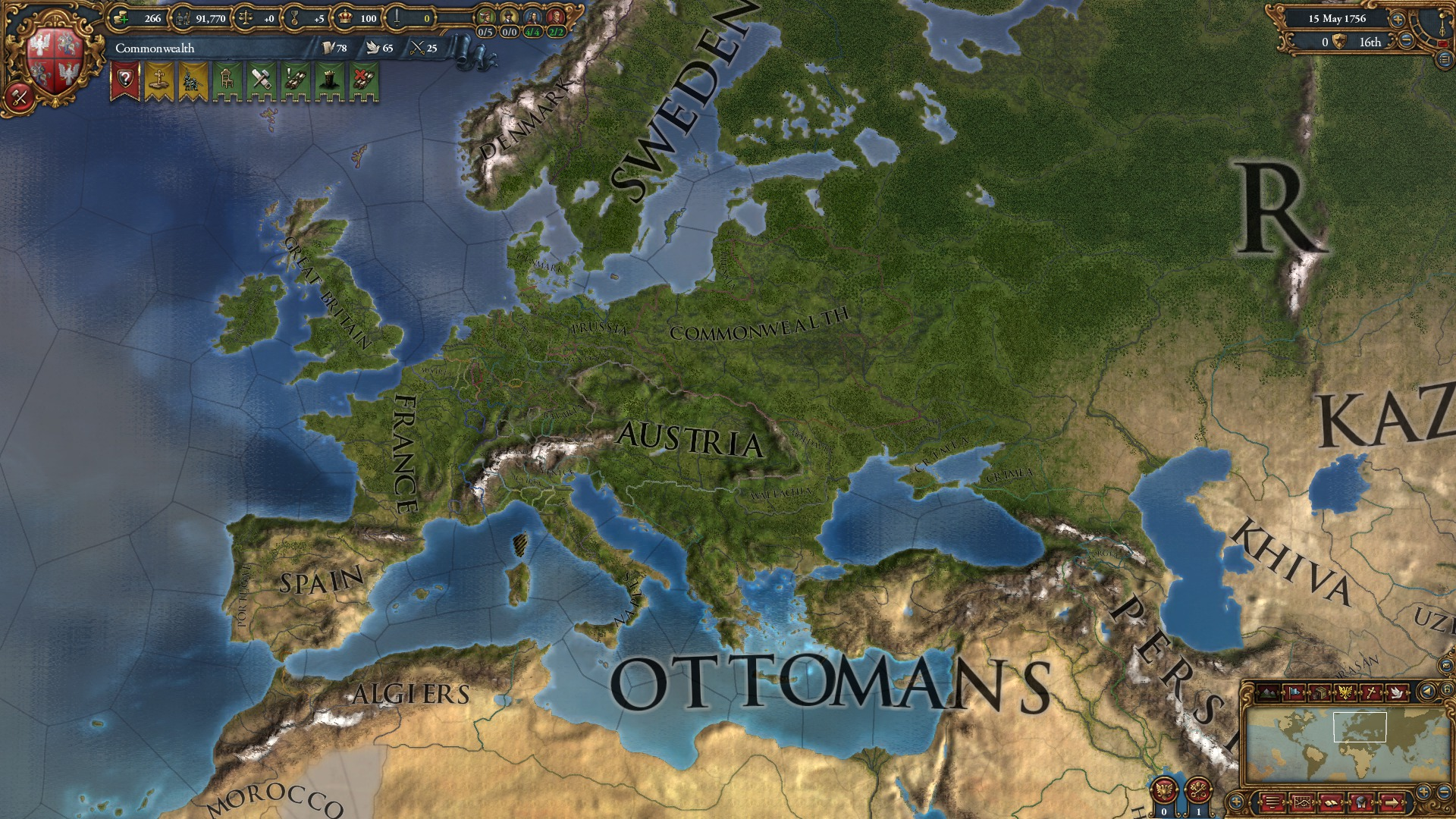 Expansion - Europa Universalis IV: Res Publica screenshot