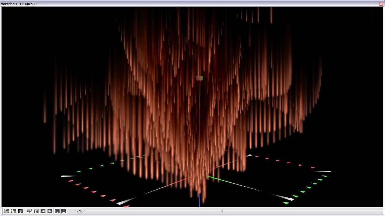 3D ParticleGen Visual FX screenshot