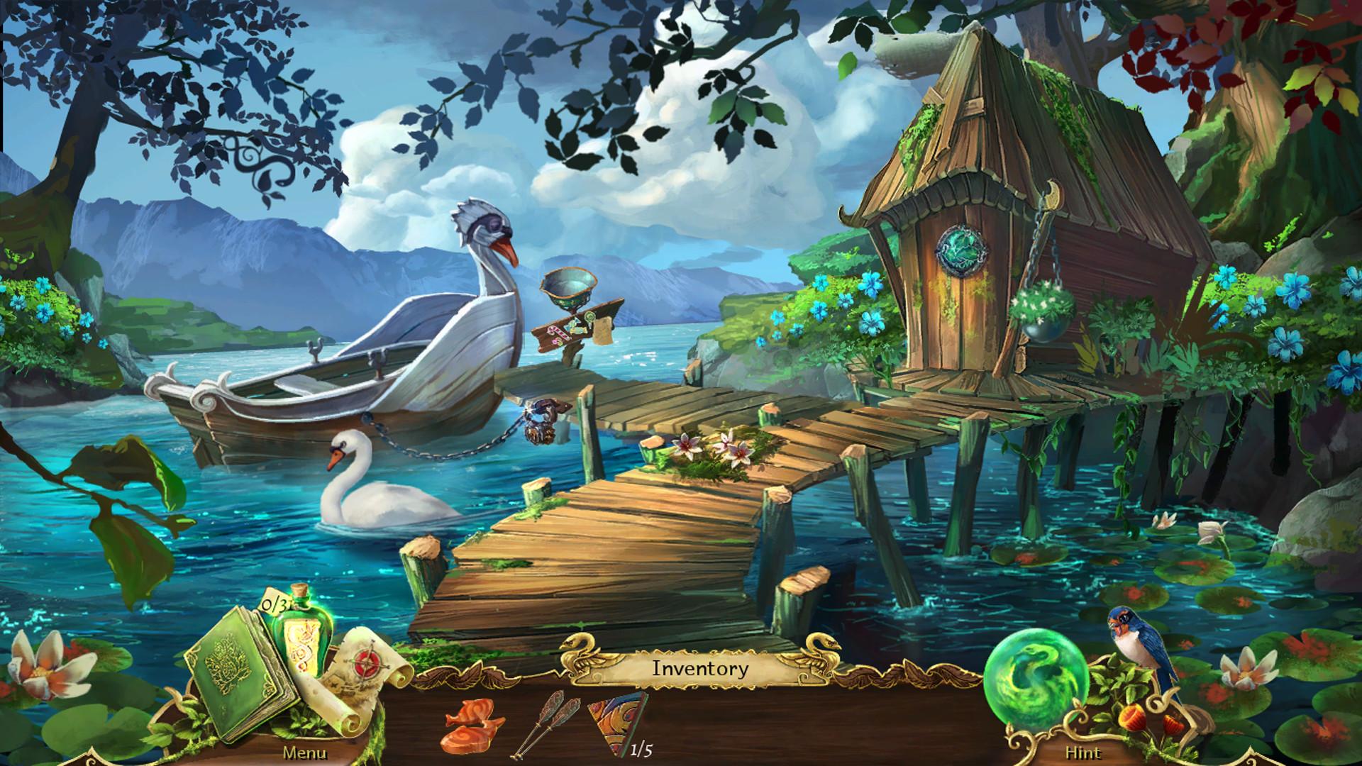 Grim Legends 2: Song of the Dark Swan screenshot