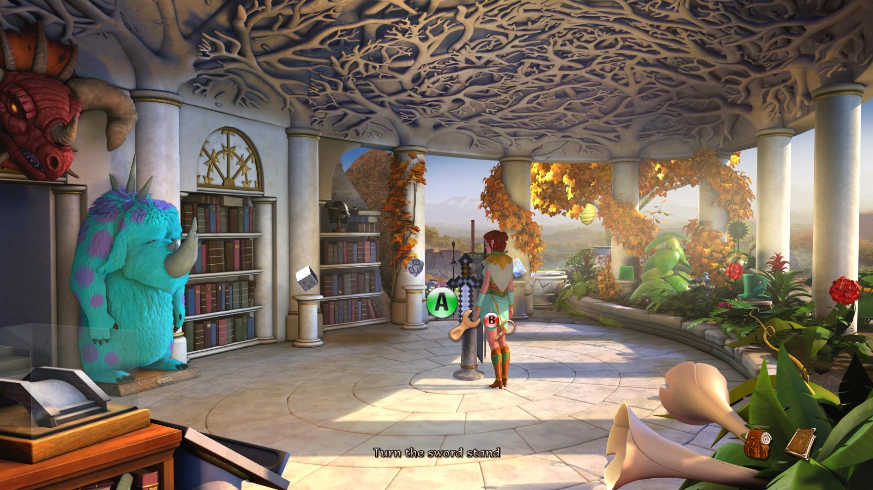The Book of Unwritten Tales 2 screenshot