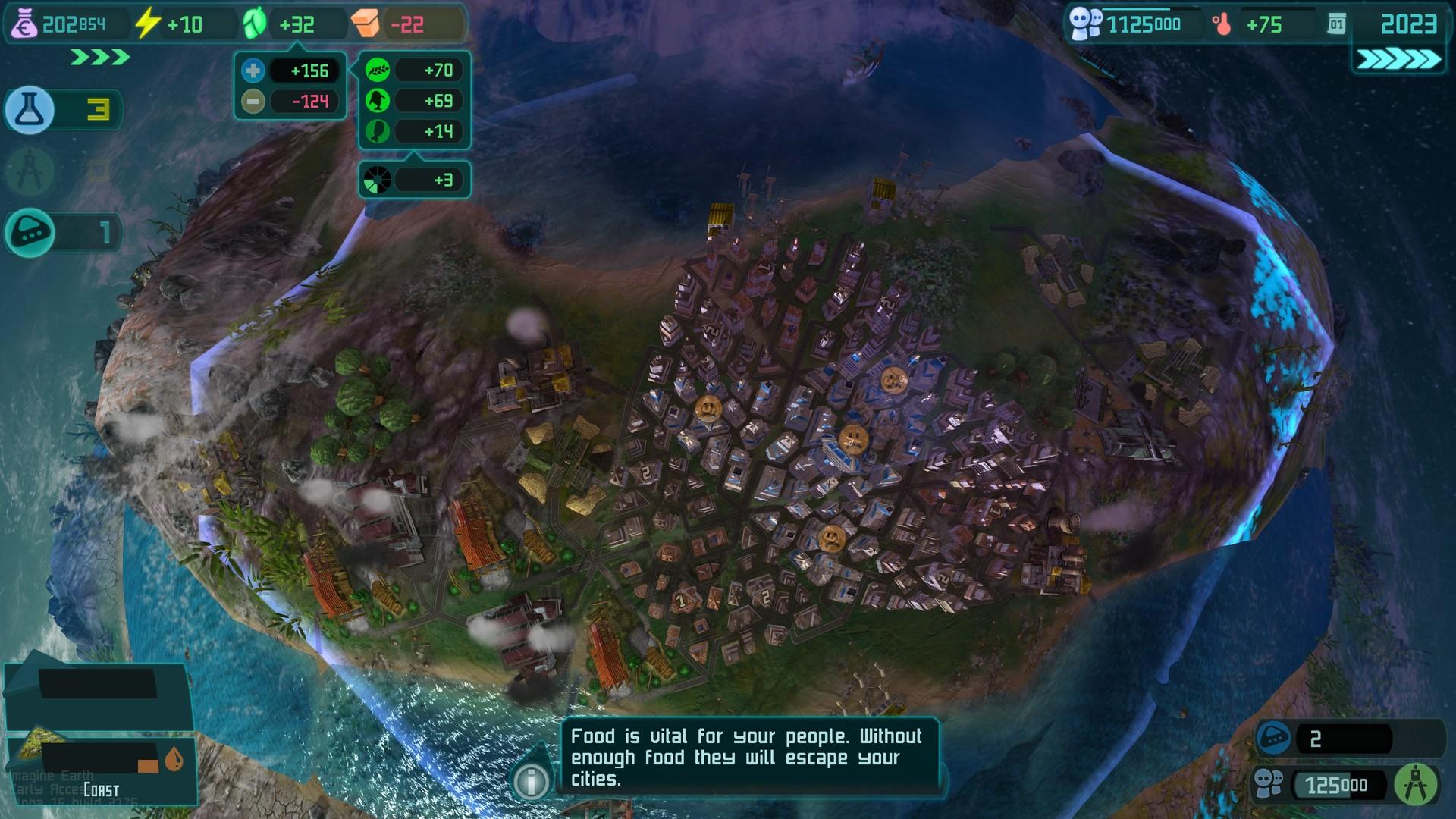 Скриншот Imagine Earth Alpha 23 (b2050) скачать торрентом