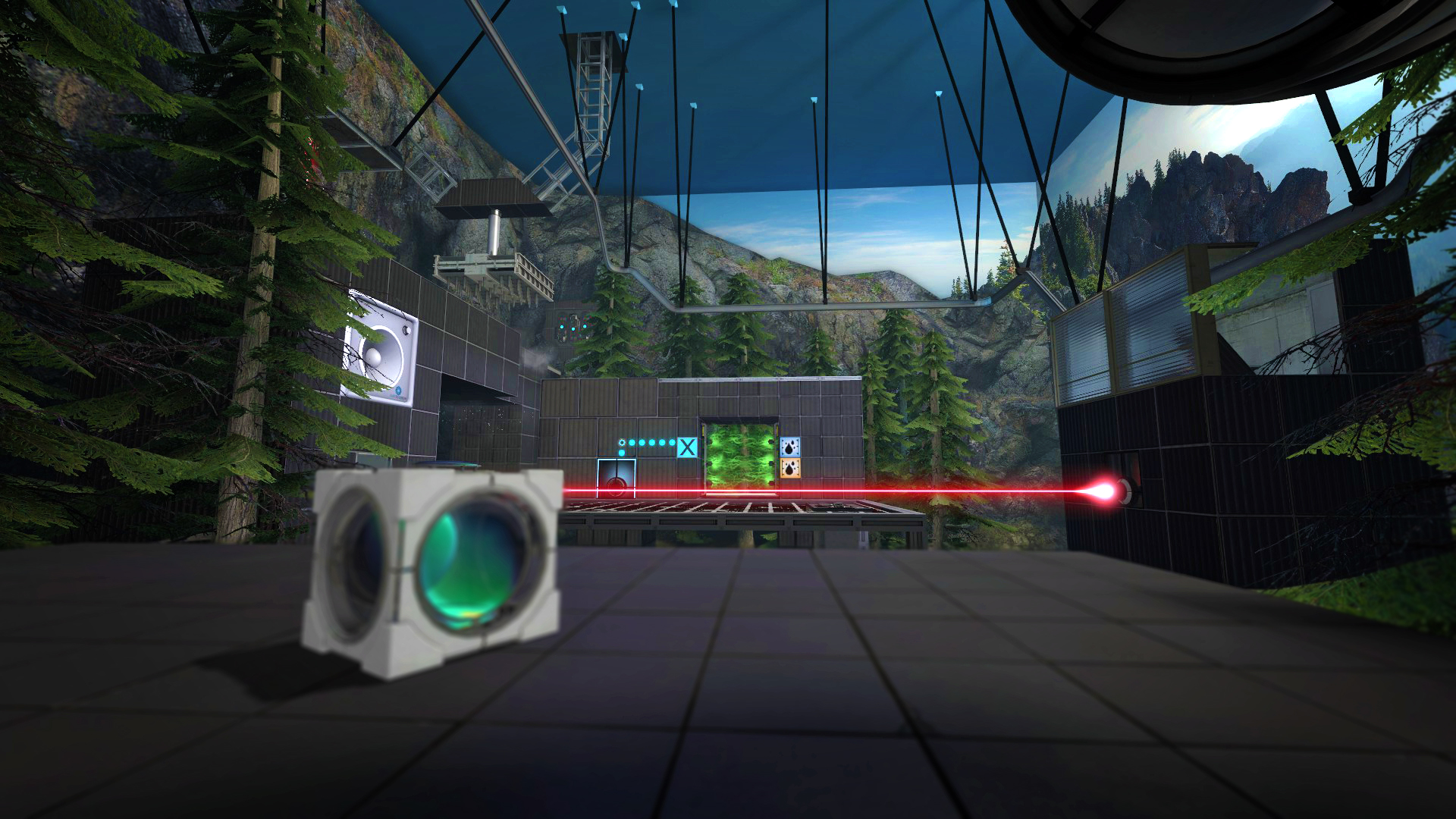Aperture Tag: The Paint Gun Testing Initiative screenshot