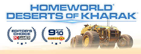 Pre-Purchase Now - Homeworld: Deserts of Kharak