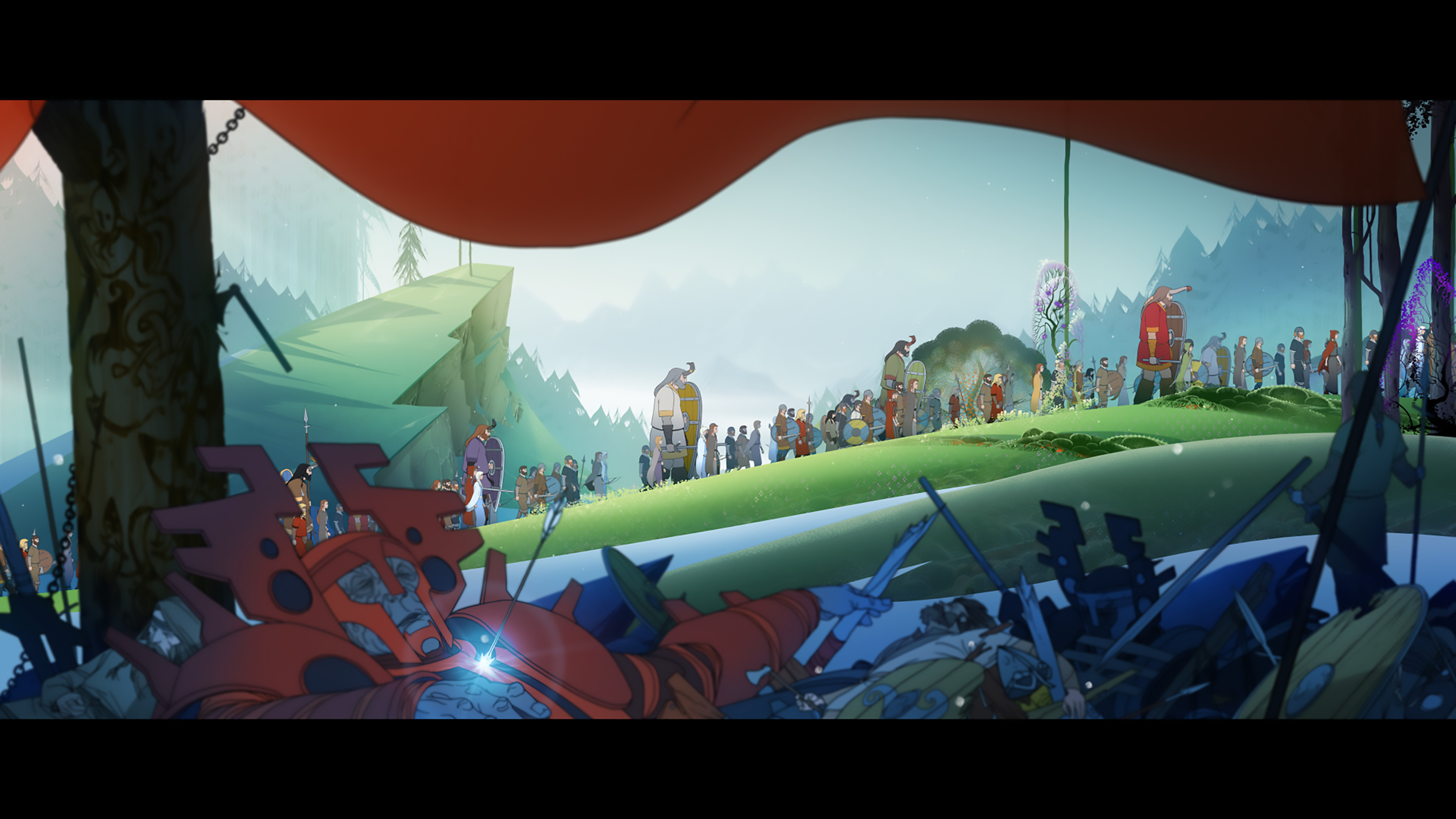 The Banner Saga Dilogy (RUS|ENG|MULTI) [RePack] от R.G. Механики