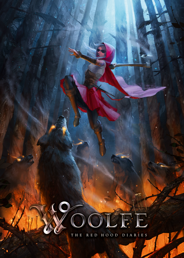 Woolfe: The Red Hood Diaries Woolfe-ArtPoster-B2-620