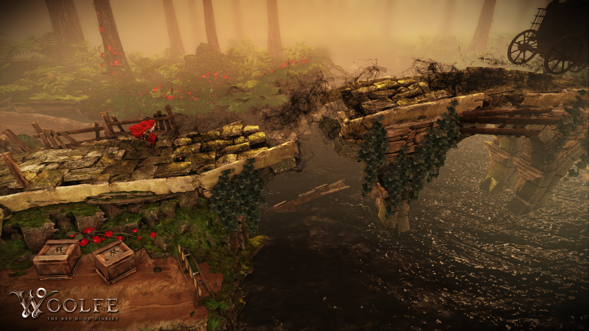 Woolfe - The Red Hood Diaries screenshot