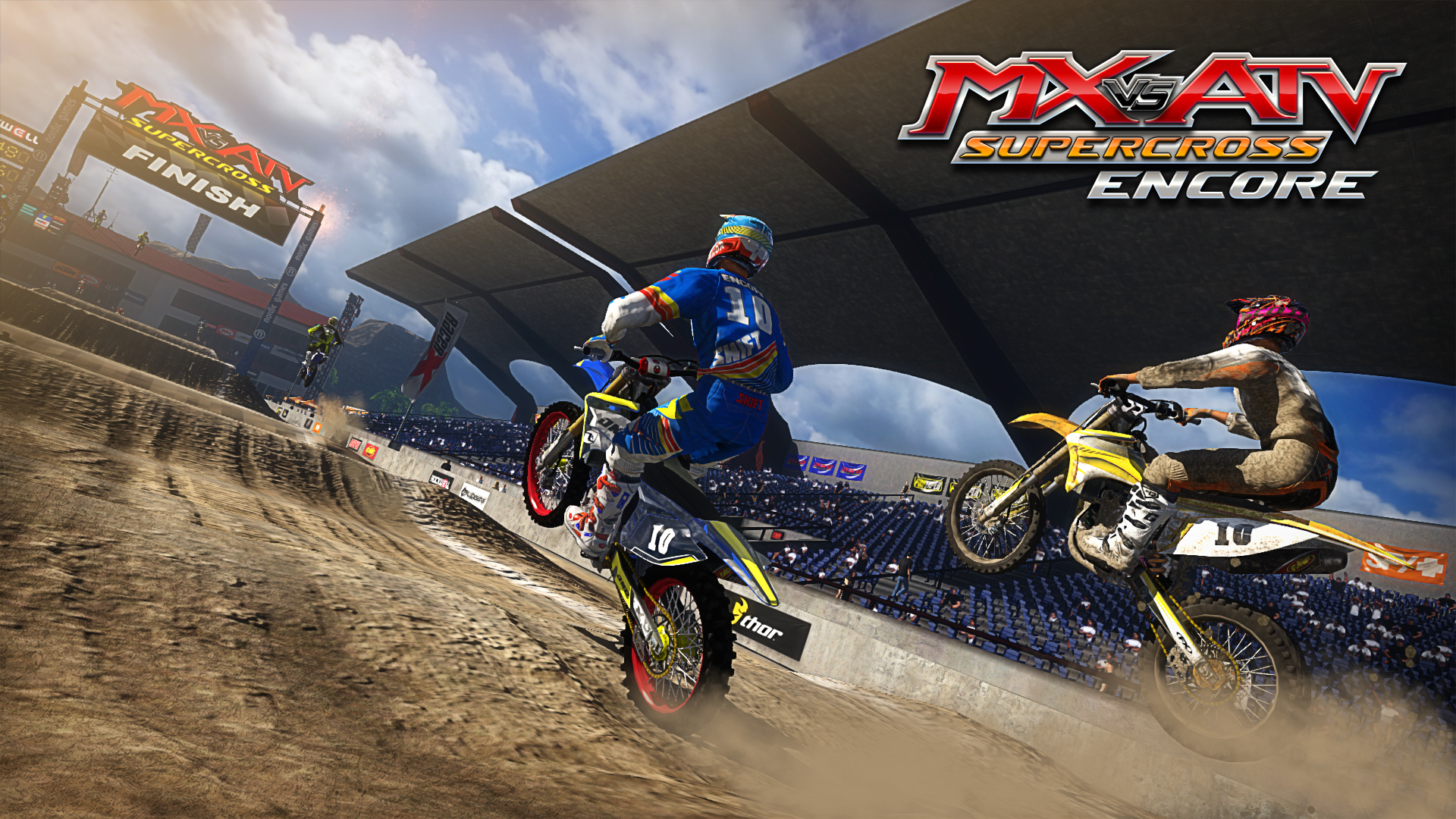MX vs. ATV Supercross Encore image 1