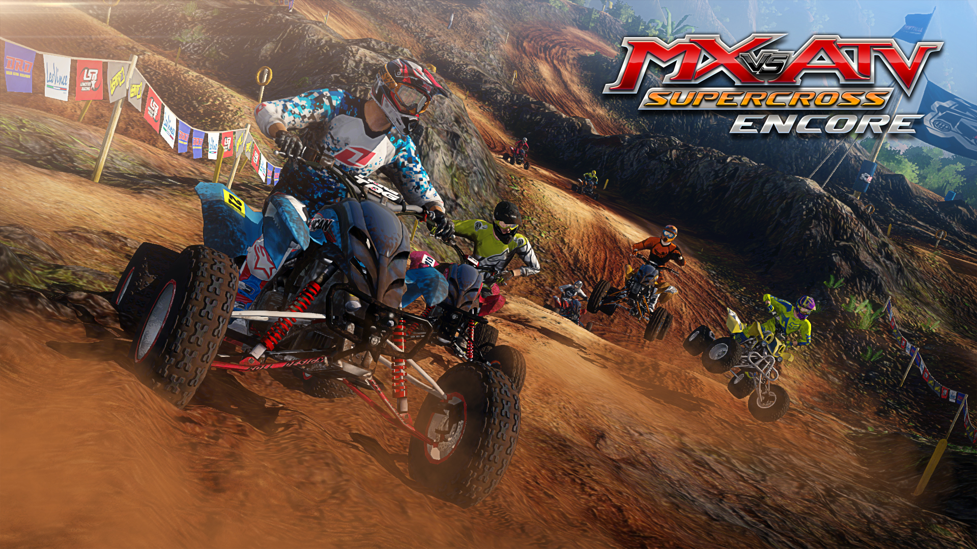 MX vs. ATV Supercross Encore (2015) PC | Лицензия