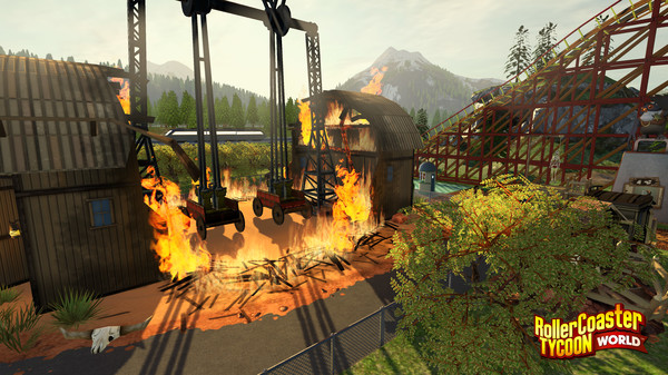 RollerCoaster Tycoon World pc torrent