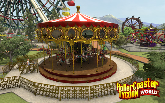 RollerCoaster Tycoon World Early Access PC