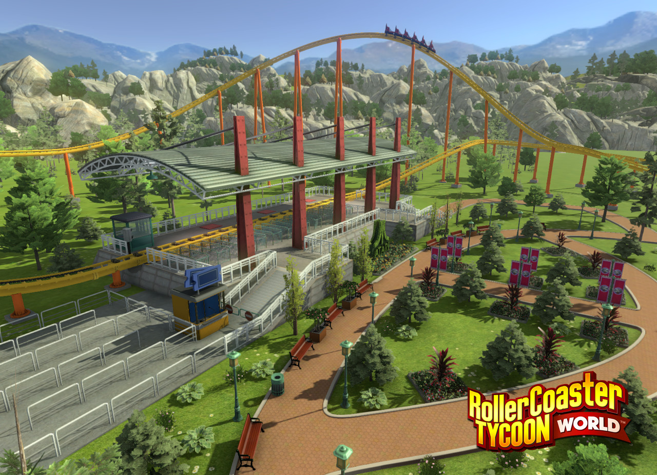 rollercoaster tycoon 4 demo