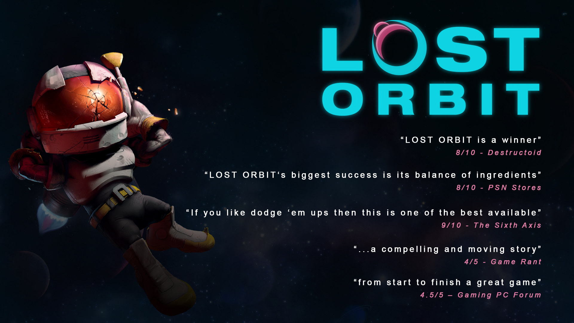 LOST ORBIT screenshot