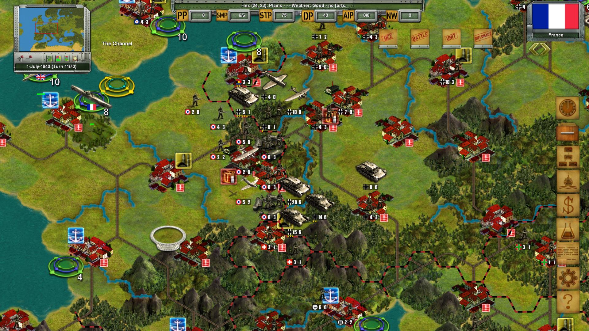Strategic War in Europe screenshot