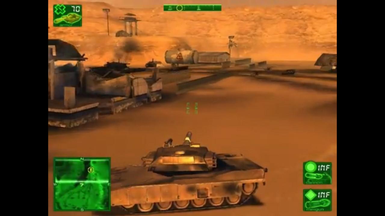 Desert Thunder screenshot