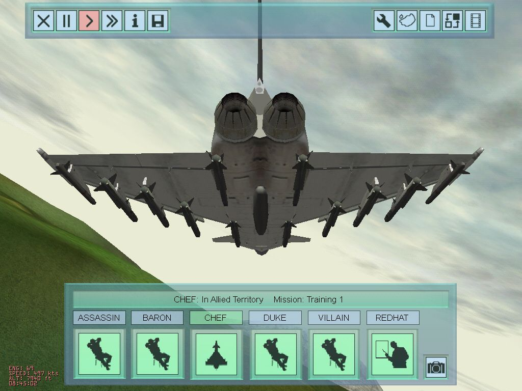Eurofighter Typhoon screenshot