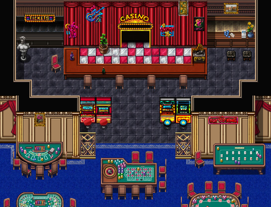 RPG Maker VX Ace - Casino Tile Pack screenshot