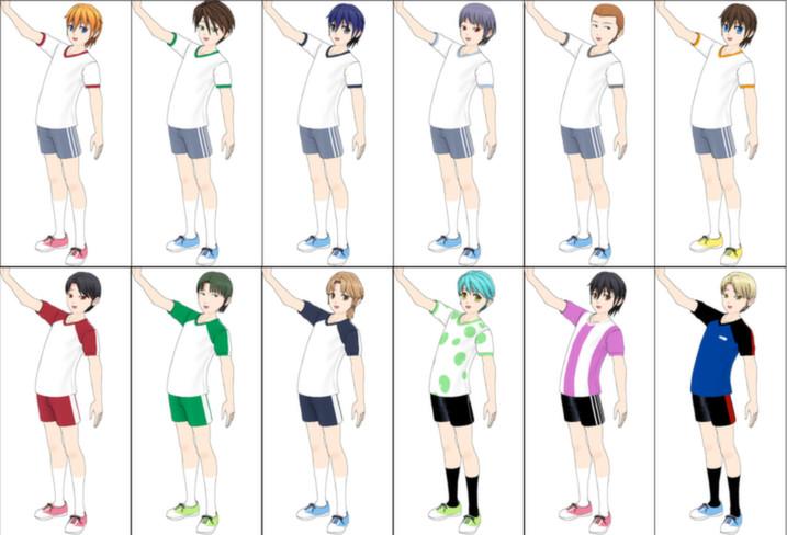 ComiPo! Summer Uniform & Sportswear screenshot