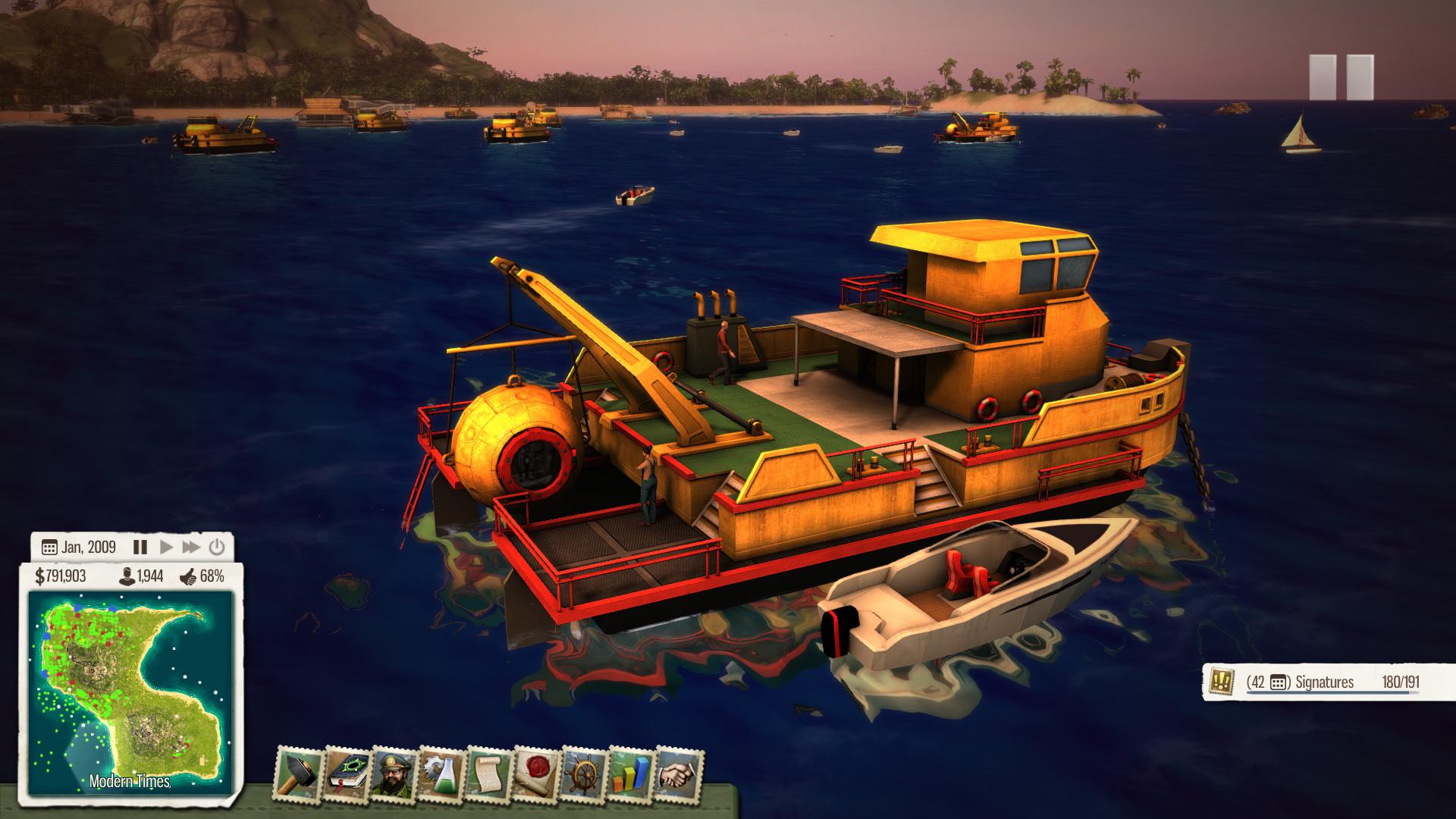 Tropico 5 - Waterborne screenshot