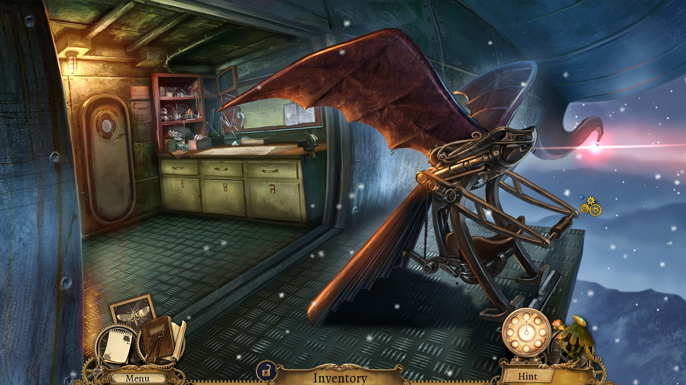 Clockwork Tales: Of Glass and Ink screenshot