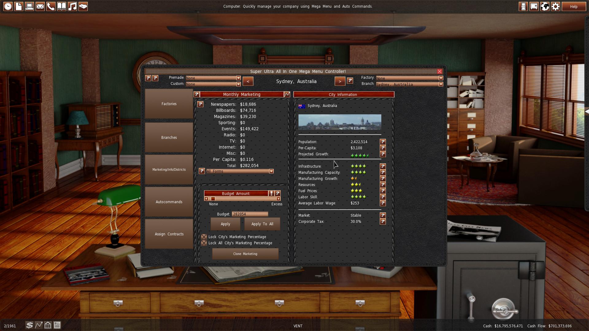 GearCity screenshot