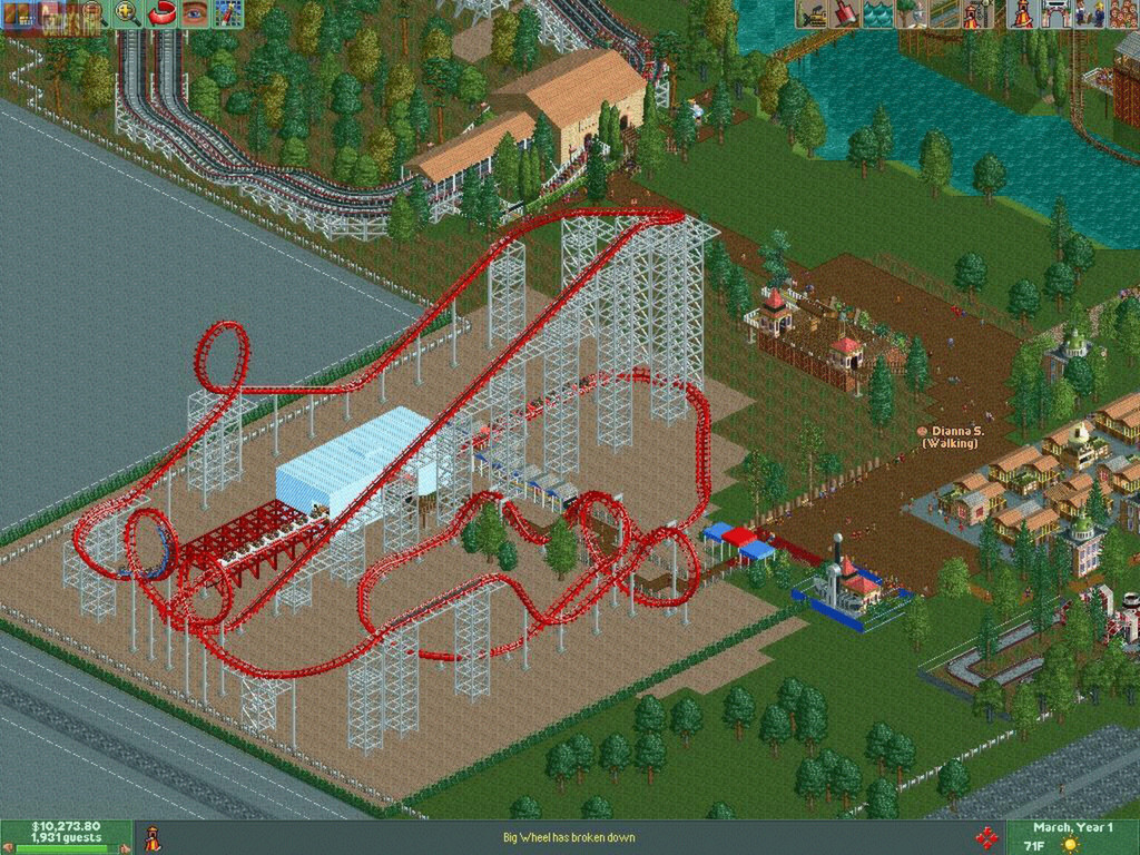 Rollercoaster Tycoon 2: Triple Thrill Pack screenshot 2