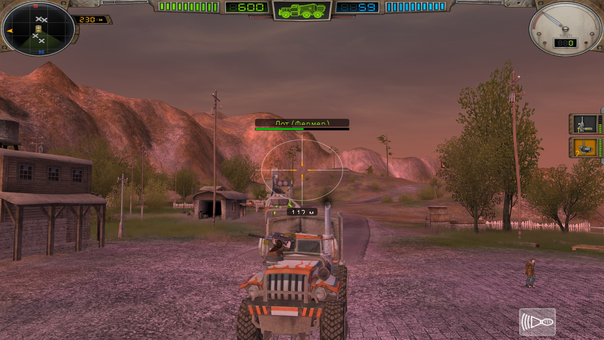 Hard Truck Apocalypse: Rise Of Clans / Ex Machina: Meridian 113 screenshot