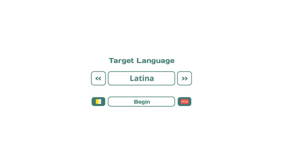 Influent DLC - Latina [Learn Latin] screenshot