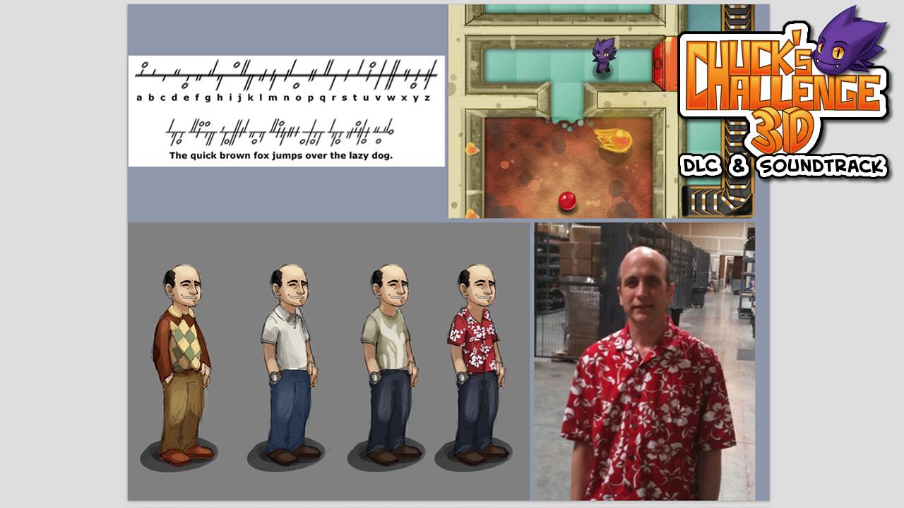 Chuck's Challenge 3D: DLC & Soundtrack screenshot