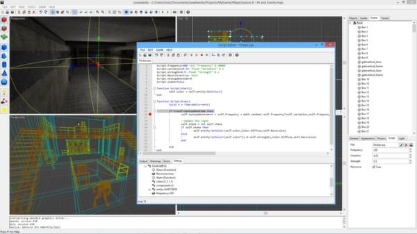 Leadwerks Game Engine - Professional Edition screenshot