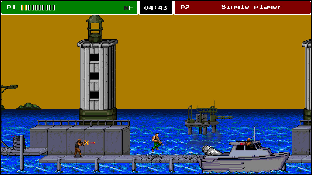 8-Bit Commando screenshot