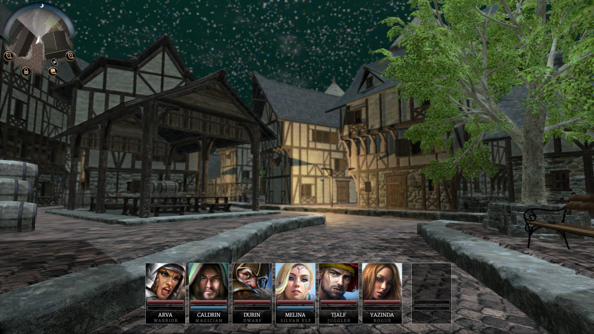 Realms of Arkania: Star Trail screenshot